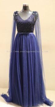 Dinner Dress Blue 032