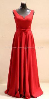 Vivo Wedding & Evening Gown Red 001