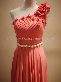 Short Gown Dinner Dress