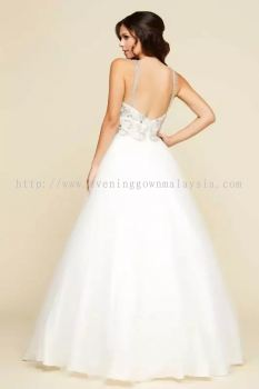 White Gown Wedding Gown