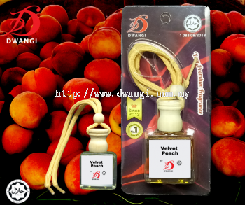 Hanging Car Perfume (Velvet Peach)