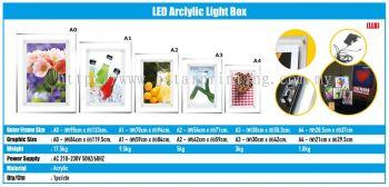 LED Arclylic Light Box