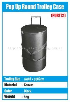 Pop Up Round Trolley Case