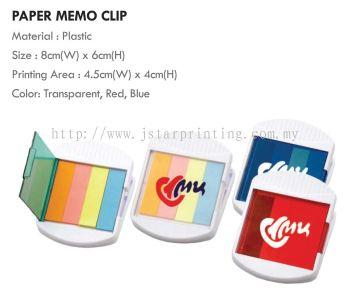 Miscellaneous Paper Memo Clip