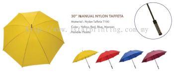 Umbrella 30 Manual Nylon Taffeta