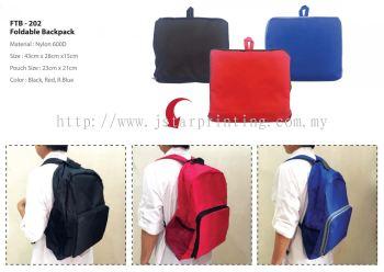 Foldable Backpack FTB 202