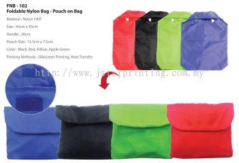 Foldable Nylon Bag FNB 102