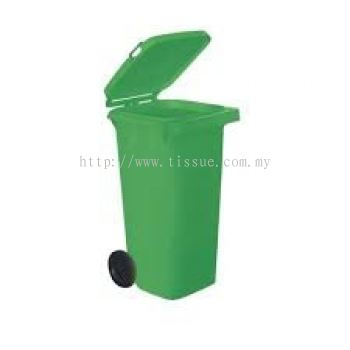 2 Wheels Polythene Bin