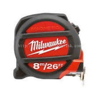 MILWAUKEE 48-22-5225 ( 8 MTR ) MAGNETIC MEASURING TAPE