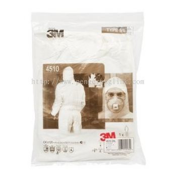 3M 4510 L TYPE DISPOSABLE COVERALL