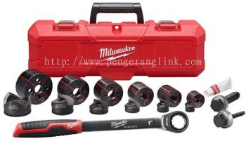 "MILWAUKEE 49-22-2694 1/2"" RATCHET KNOCKOUT SET"