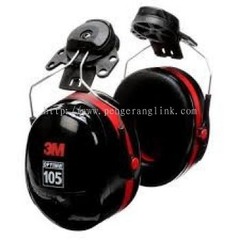 3M H10P3E Peltor optime 105 helmet attached earmuff