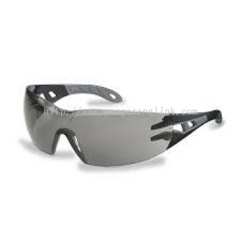 Uvex phoes grey safety glasses 9192281