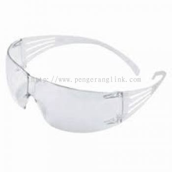3M SF201AF ,Securefit, clear lens
