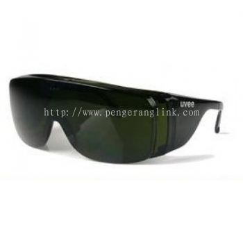 Uvee 7311 IR green safety glasses