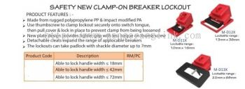 NEW CLAMP-ON BREAKER LOCKOUT