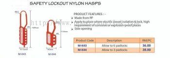 LOCKOUT NYLON HASPS