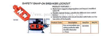 SNAP-ON BREAKER LOCKOUT