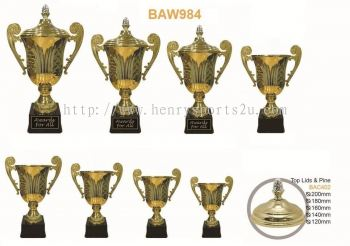 BAW984 Metal Cup with Handle