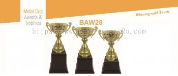 BAW28 Metal Cup with Handle