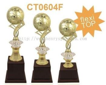 CT0604F Plastic Trophy (Football Fatsal)
