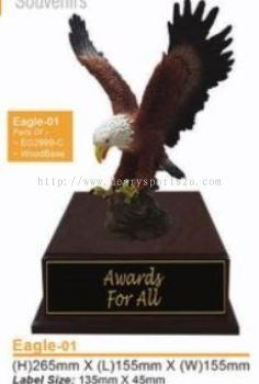 Eagle01 Resin Trophy
