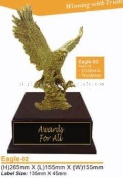 Eagle02 Resin Trophy