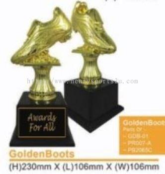 GoldenBoots Resin Trophy