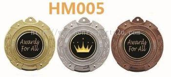 HM005 Plastic Hanging Medal