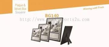 BG140 Plaque & Velvet Box Souvenir