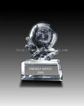 CRT902 Crystal Trophy_Bowling