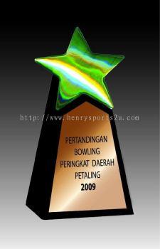 CRT10011 Crystal Trophy_Star