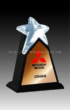 CRT10012 Crystal Trophy_Star