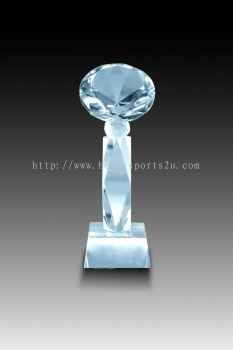 CRT10013 Crystal Trophy