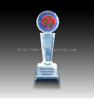 CRT10017 Crystal Trophy