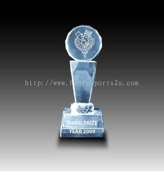 CRT10018 Crystal Trophy