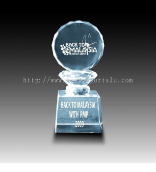 CRT10019 Crystal Trophy
