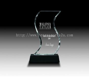 CRT20003 Crystal Plaque