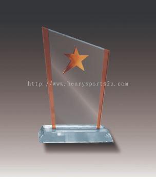 CRT20009 Crystal Plaque_Star