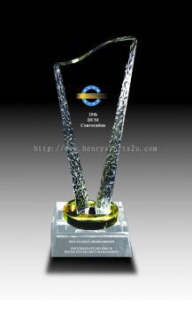 CRT90012 Crystal Trophy