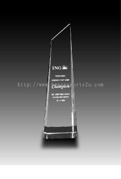 CRT90014 Crystal Trophy