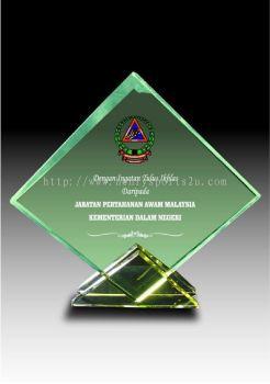 CRT90047 Crystal Plaque