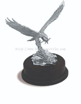APA6135 Pewter Trophy_Eagle