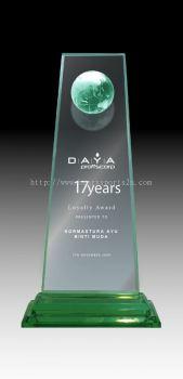 CA382 Glass Plaque