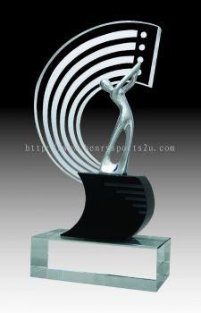 CGH003 Crystal Trophy_Golf