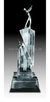 CGH006 Crystal Trophy_Golf