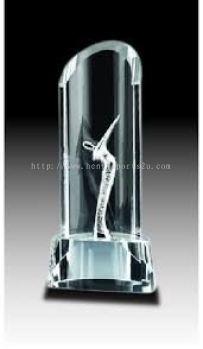 CGH019 Crystal Trophy_Golf