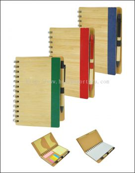 NB7185B Eco Notebook With Pen