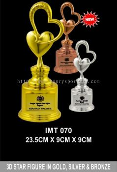 IMT 070 Exclusive Crystal Trophy
