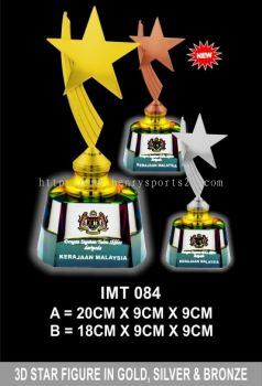 IMT 084 Exclusive Crystal Trophy